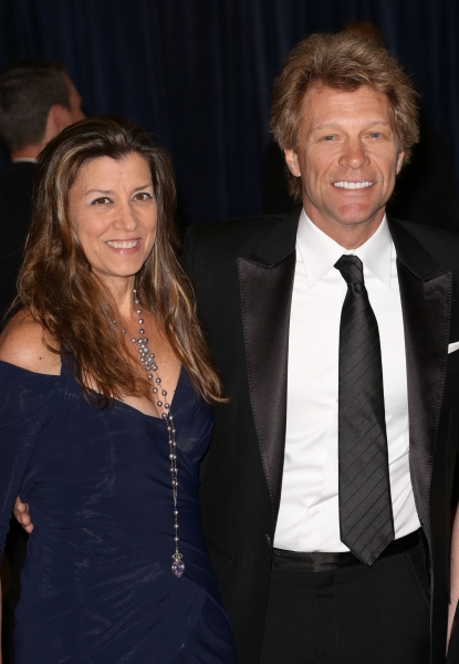 Jon Bon Jovi and his wife, Dorothea Hurley