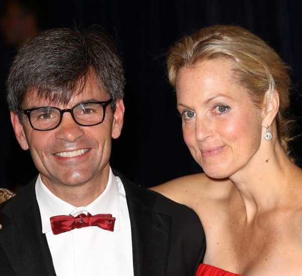 George Stephanopoulos with wife  Alexandra Wentworth