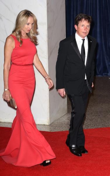 Tracy Pollan & Michael J. Fox