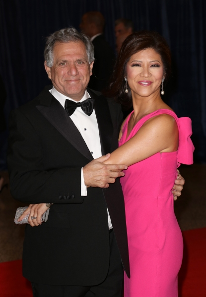 Leslie Moonves & Julie Chen