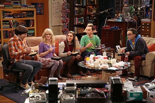 Simon Helberg, Melissa Rauch, Mayim Bialik, Jim Parsons, Johnny Galecki Photo
