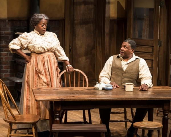Lillias White and Keith David
