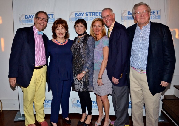 Jim Osburn, Joy Behar, Ana Daniel, Tracy Mitchell, Michael Grim, and David Bray