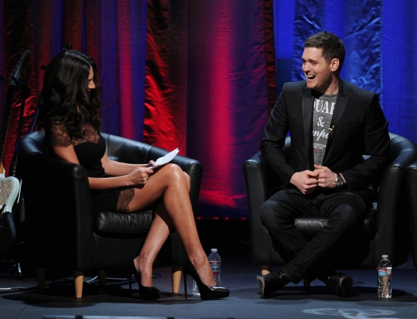 Michael Buble and Company (Photo Credit: Frank MicelottaInvisionAP)