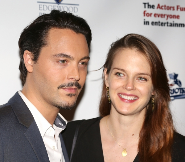 Jack Huston & Guest  Photo