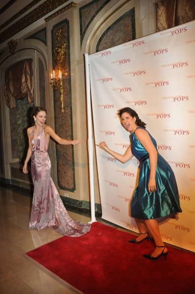Photo Coverage: New York Pops 30th Anniversary Gala - The Starry Red Carpet!