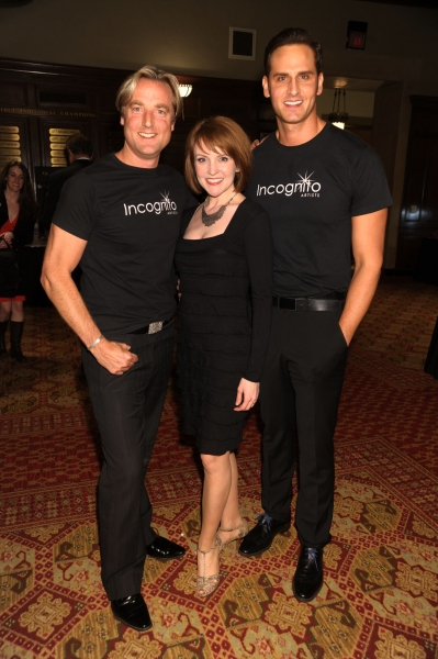 Performers Jeff Sewell, Betsey DiLellio, Andrew Ragone