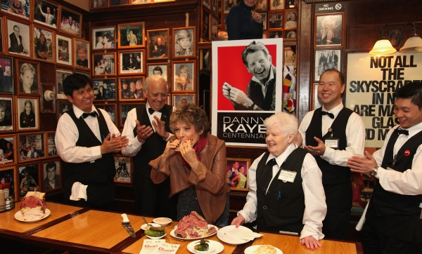 Photo Flash: Dena Kaye Unveils 'Danny Kaye Deli Club' at Carnegie Deli in NYC