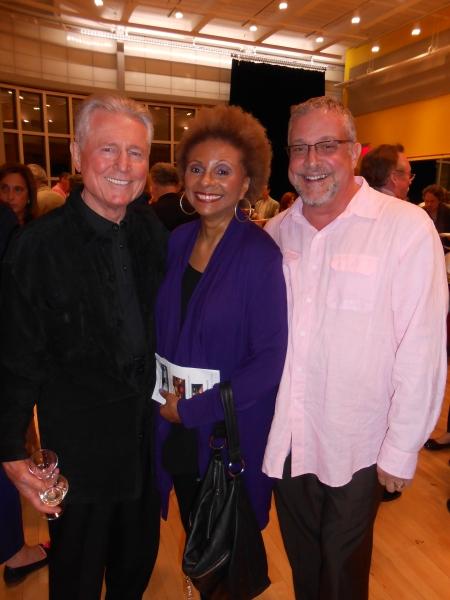 Grahame Pratt, Leslie Uggams, Director Michael Bush Photo