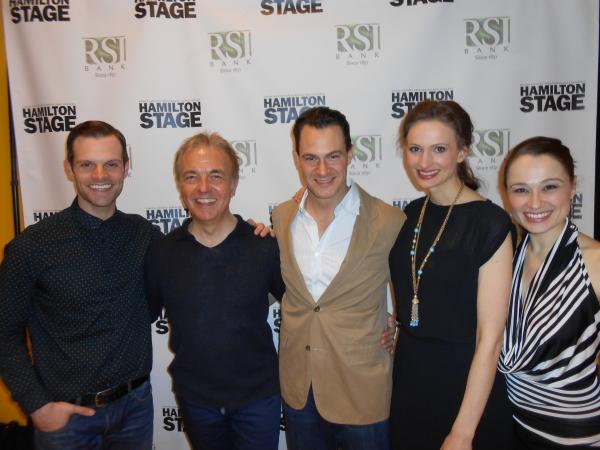 Cole Burden, David Arthur, Matt Bogart, Jessica Burrows and Lianne Marie Dobbs Photo