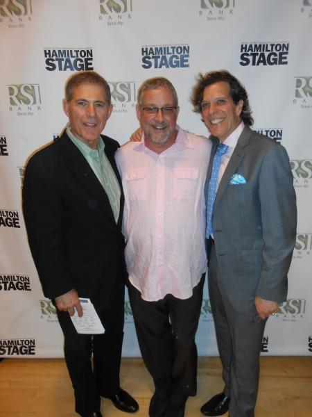Aldo Scrafono, Michael Bush and Jonathan Brielle Photo