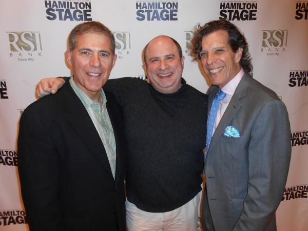 Aldo Scrofani, James Sampliner and Jonathan Brielle Photo