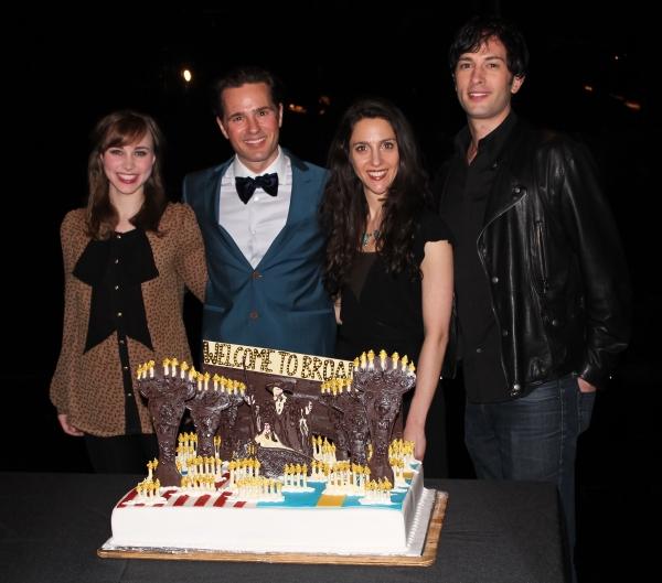 Samantha Hill, Peter J�'¶back, Marni Raab and Kyle Barisich