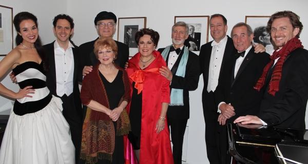 Alexandra Silber, Santino Fontana, Walter Charles, Marni Nixon, Judy Kaye, David Garrison, Ted Sperling, Jim Dale and Jason Danieley