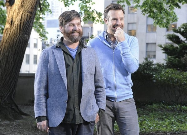 Zach Galifianakis, Jason Sudeikis