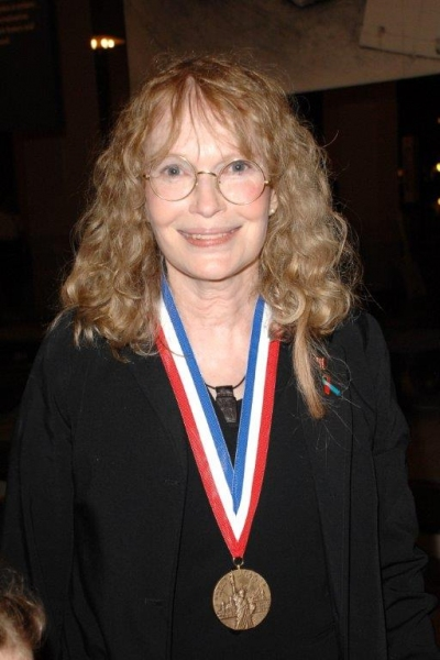 Medal of Honor winner Mia Farrow