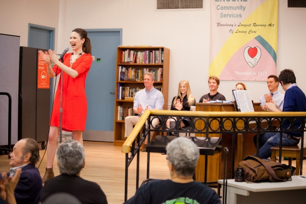 Photo Flash: Cast of CHICAGO Brings 'All That Jazz' to Sing For Your Seniors