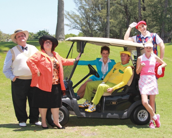 Photo Flash: Meet the Cast of THE FOX ON THE FAIRWAY at Actors' Playhouse