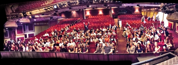 Photo Flash: NYC Middle Schoolers Visit NICE WORK