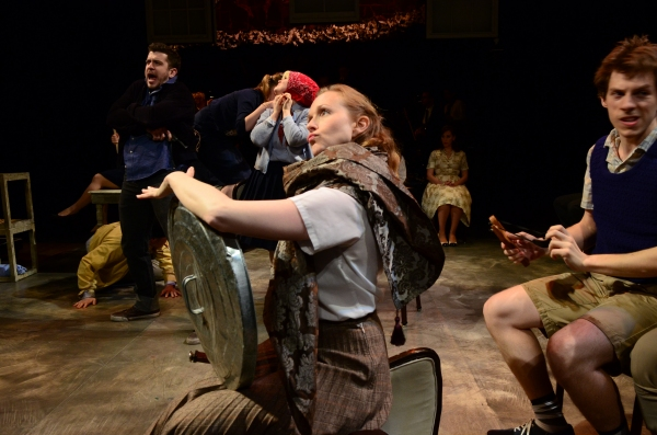Photo Flash: First Look at Colleen Hawks, John Ashley Brown and More in APAC's BLOOD BROTHERS