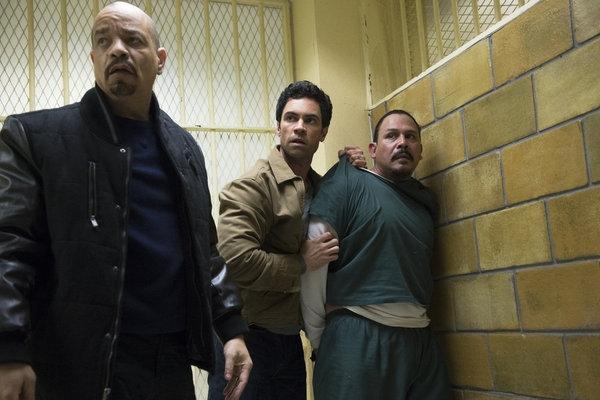 Ice-T, Danny Pino, Emilio Rivera
