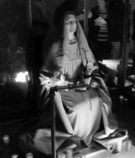 Photo Coverage: Inside Fiona Shaw's THE TESTAMENT OF MARY Pre-Show
