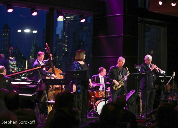 Ted Rosenthal, Dean Johnson, Ann Hampton Callaway, Tim Horner, Dick Oatts, Randy Sand Photo