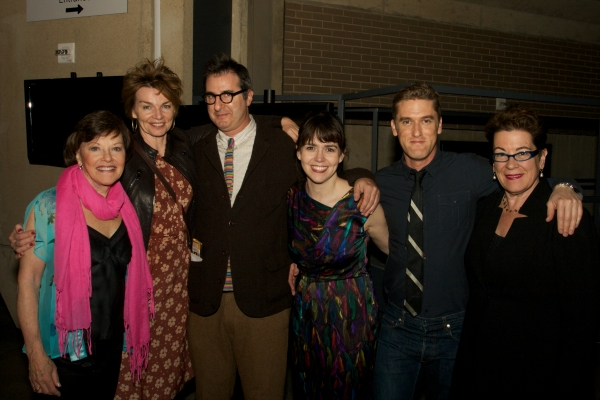 Cast members with Jon Robin Baitz and Artistic Director Molly Smith
