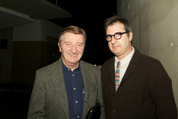 Larry Bryggman with Jon Robin Baitz