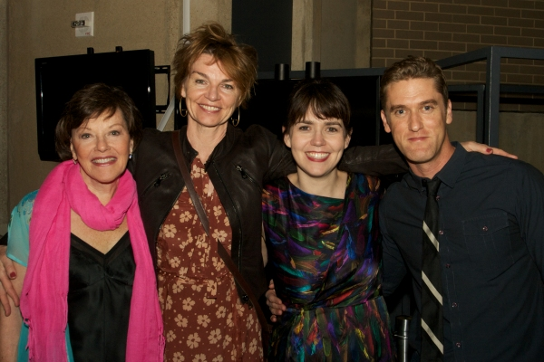 Cast members Helen Carey, Martha Hackett, Emily Donahoe and Scott Drummond