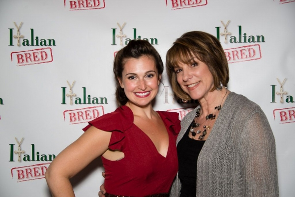 Photo Flash: Candice Guardino, Tony Danza, Vincent Pastore and More at ITALIAN BRED Opening Night