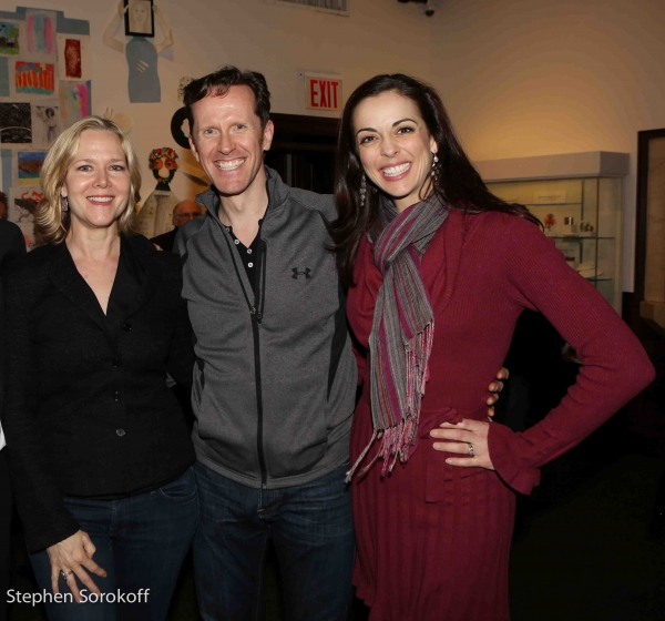 Rebecca Luker, Jeffry Denman, Erin Crouch Photo