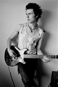 Sid Vicious, 1977 Photograph © Dennis Morris - all rights reserved