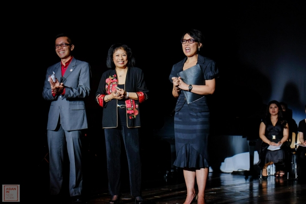 Steven Eng, Baayork Lee, Nina Zoie Lam
