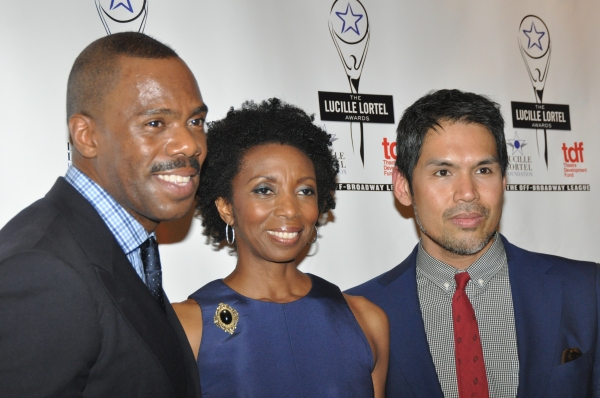 Colman Domingo, Sharon Washington and Clint Ramos
