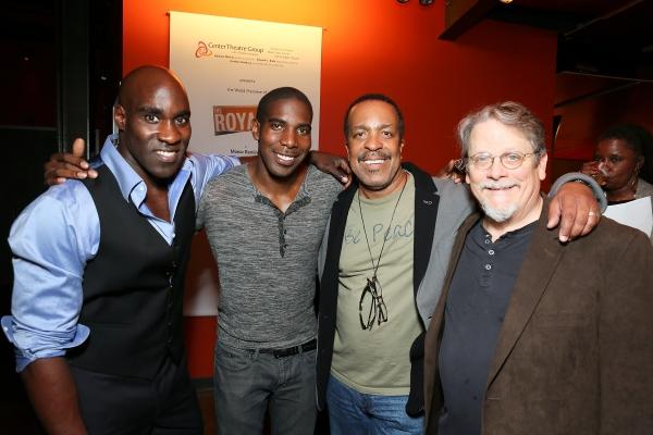 David St. Louis, Desean Terry, Robert Gossett and Keith Szarabajka