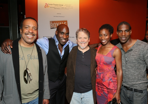 Robert Gossett, David St. Louis, Keith Szarabajka, Ameenah Kaplan and Desean Terry Photo