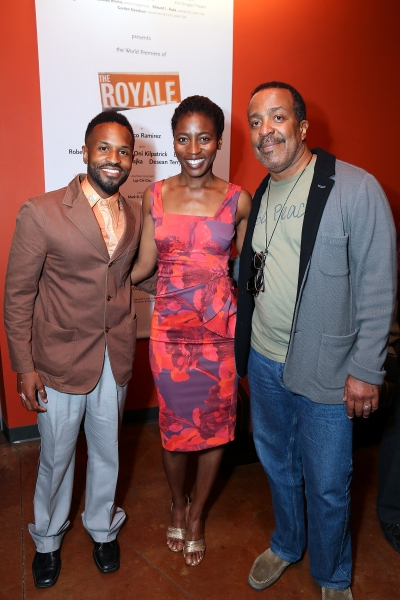 Christopher Eclipse, Ameenah Kaplan and Robert Gossett