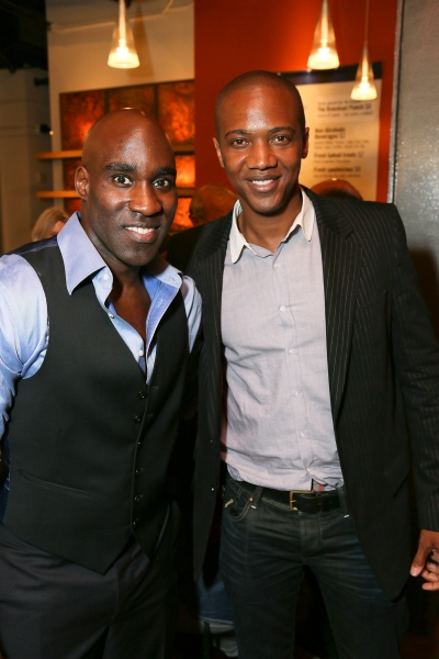 David St. Louis and J. August Richards Photo