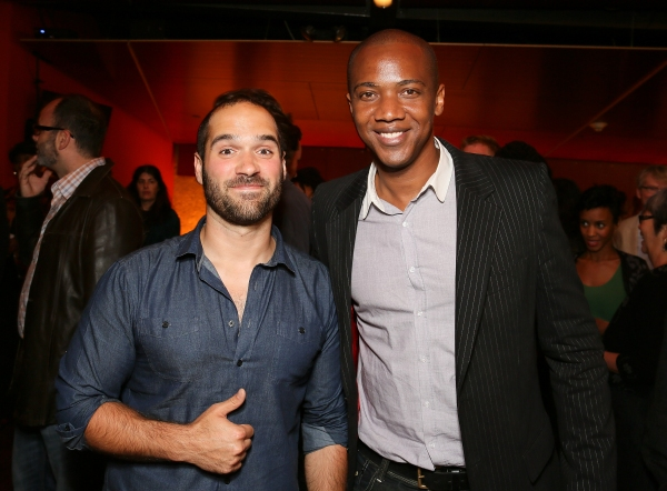 Marco Ramirez and J. August Richards