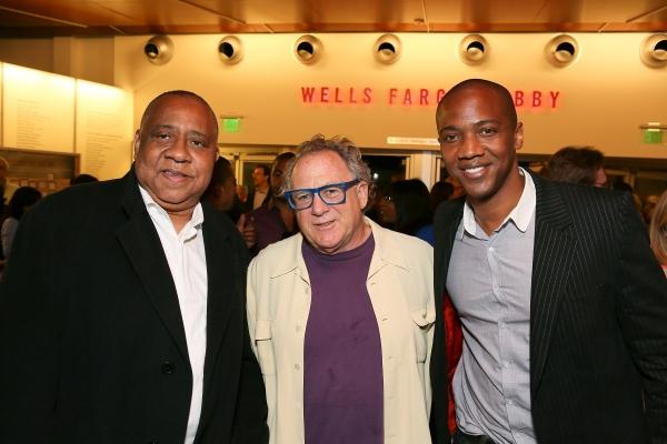 Barry Shabaka Henley, Michael Barnard and J. August Richards Photo