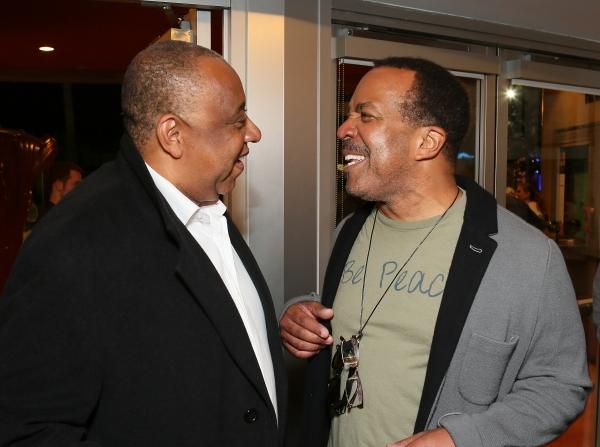 Barry Shabaka Henley and Robert Gossett