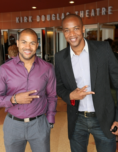 Kristofer Gordon and J. August Richards Photo