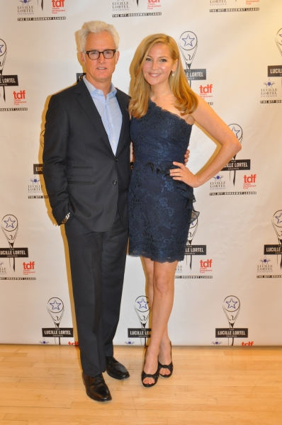 John Slattery and Jennifer Westfeldt