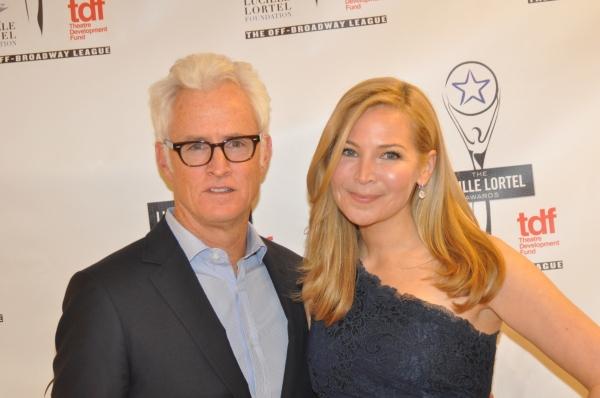 John Slattery and Jennifer Westfeldt
