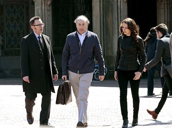 Michael Emerson, Peter Friedman, Amy Acker