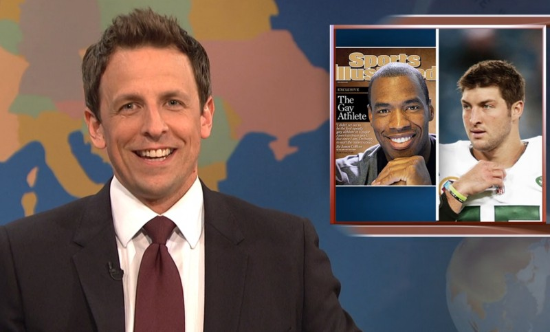 Highlights from SNL's Weekend Update with Seth Meyers, 5/4
