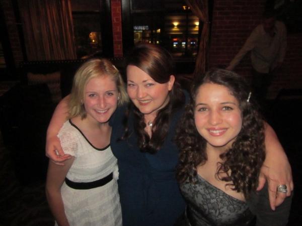 left to right: Sami Staitman, Kathy Deitch, Sarah Staitman