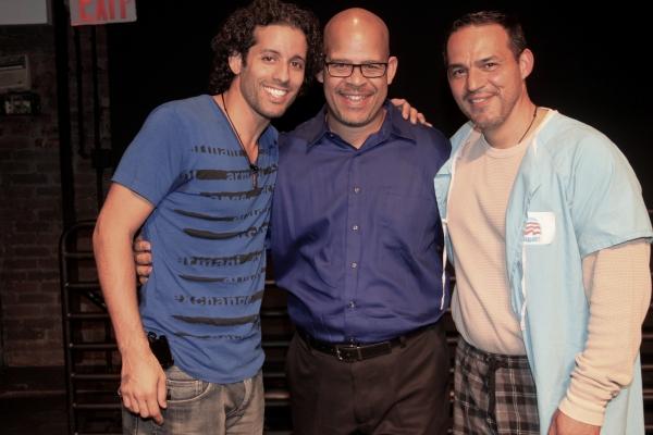 Luis Salgado, Carlos Mendoza and Ruben Flores