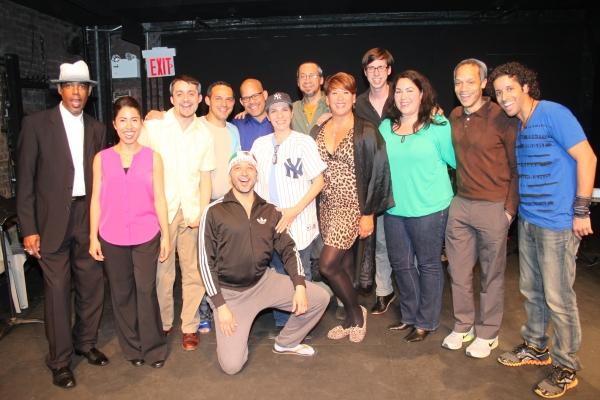 Photo Flash: Inside Salgado Productions' VALENCIA Reading